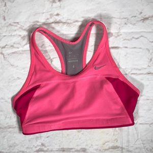Nike Spirts bra!  Size Small. Pink